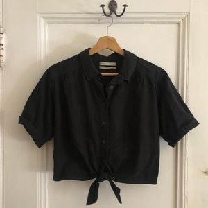 UO Self Tie Button Down